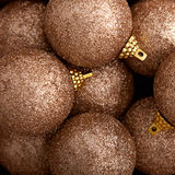 Background of decorative christmas balls Royalty Free Stock Image