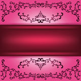 Background with decorative ornament Stock Photo