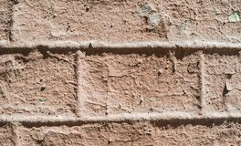 Background decorative plaster, bricks Stock Photos