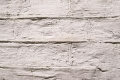 Background decorative plaster, bricks Stock Photo
