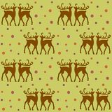 Background with deers Royalty Free Stock Image