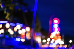 Bstract lights.bokeh lights. Background of defocused abstract lights.bokeh lights Stock Image