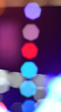 Background with defocused lights Stock Photography