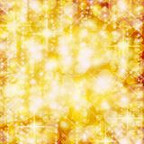 Background of defocussed golden lights Royalty Free Stock Photo