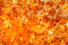 Background of delicious classic Hawaiian Pizza Stock Photography