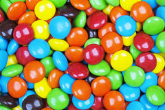 Background of delicious milk chocolate candy Royalty Free Stock Images