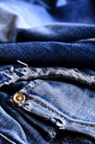 Background of denim Royalty Free Stock Photography