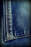 Background of denim Royalty Free Stock Photos