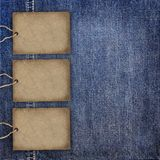 Background denim texture Royalty Free Stock Photos