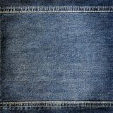 Background denim texture Royalty Free Stock Photo