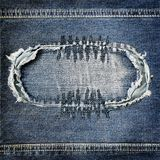 Background denim texture Royalty Free Stock Photography