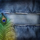 Background denim texture Stock Photo