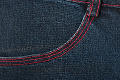 Background of denim texture Royalty Free Stock Photography