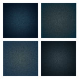 Background denim texture set. Stock Images