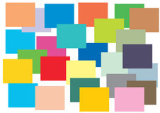 Background design. Colorful slabs overlay-ed background Stock Photography