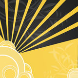 Background, design. Design, background, modern art, floral design Stock Photos