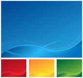 Background design 4 colours Royalty Free Stock Image