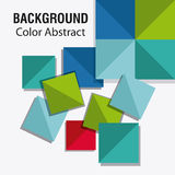 Background design. Abstract figure. Colorfull illustration, vect Stock Photography