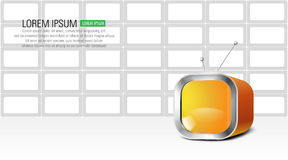 Background design. Abstract illustration of modern background design Royalty Free Stock Photography