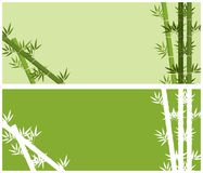 Background design with bamboo trees. Illustration Royalty Free Stock Photo