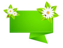 Background for a design with beautiful flowers Royalty Free Stock Photography
