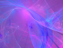 A background design in blue. A background design on black with vibrant colors Stock Image