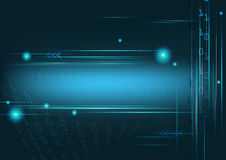 The background design with digital style and technology concept. Stock Photo