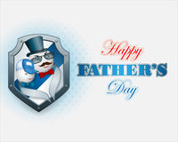 Background design for Father's day event, celebration Stock Images