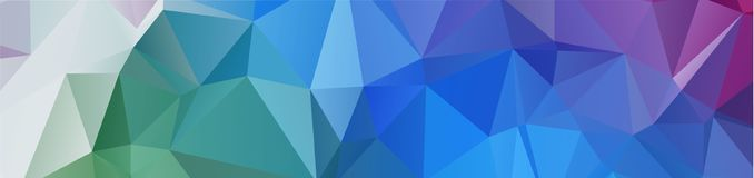Background design Geometric background in Origami style and abst. Ract mosaic with gradient fill Color . rectangle Royalty Free Stock Image