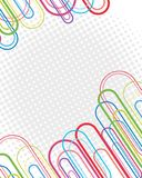 Background design with oval shapes and dots. Illustration stock illustration