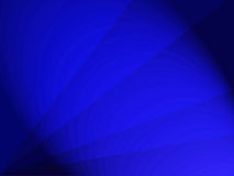 Background design royal blue with rays and dark edges Royalty Free Stock Image