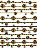 Background design and textile pattern. Can be used by many companies Royalty Free Stock Image