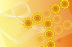 Background Design, vector. Background Design & Polygon, vector Illustration Royalty Free Stock Images