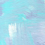 Background of detail of blue acrylic painting. Royalty Free Stock Images