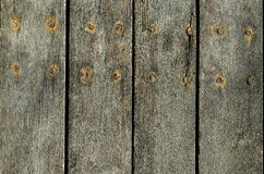 Background detail of distressed and weathered barn wood.. Stock Images