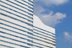 Detail of windows in high-rise Royalty Free Stock Images
