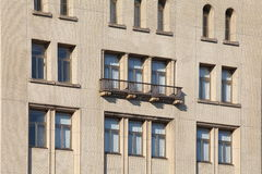 Detail of windows in high-rise Stock Photo