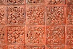 Background: detailed art flora pattern Stock Photos