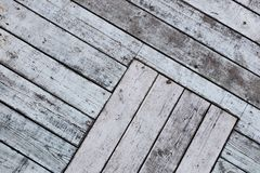 Background of diagonal old boards royalty free stock images
