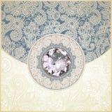 background with diamond jewel Stock Photography