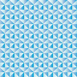 Background with diamond shapes in various shades of blue Royalty Free Stock Photo