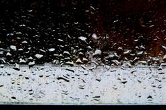 Background of different shades with water drops after rain stock image