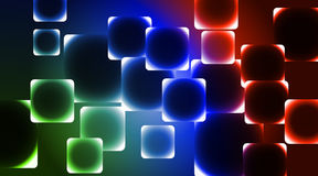 Background the different by squares. Background color with different squares Stock Photos