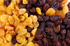 Background from different sultanas Stock Photography