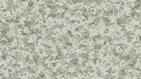 Digital camouflage pattern. A background with a digital camouflage pattern stock illustration