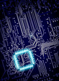 Background of digital circuit board Stock Image