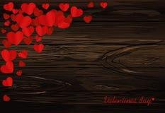 background dim heart hearts images Κάρτα για την ημέρα βαλεντίνων ` s Κενό διάστημα για το σας διανυσματική απεικόνιση