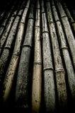 Background Of Dirty Bamboo Royalty Free Stock Photography