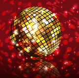 Background disco party Stock Images