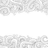 Background with doddle pattern Stock Images